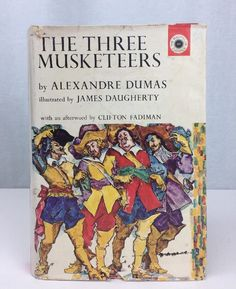 1962 Alexandre Dumas James Daugherty THE THREE MUSKETEERS First ed. HC/DJ rare | eBay