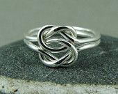 Double Love Knot Ring / Infinity Knot Ring