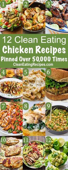 Best Clean Eating Chicken Recipes Best Clean Eating Recipes