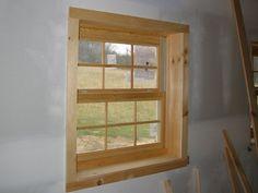 door and window molding pictures rustic Interior Window Trim