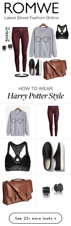 """""""Harry Potter sweater"""" by hannah-slonina on Polyvore featuring Topshop and Humble Chic"""