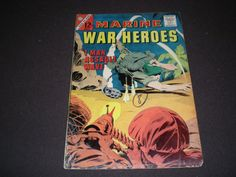 CDC Marine War Heroes 2 Charlton Comics 1964 by HeroesRealm, $5.99 Just listed for Sale @https://www.etsy.com/shop/HeroesRealm