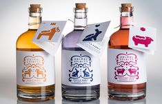 """""""Packaging for a Swedish flavored vodka, inspired by the country's folk art  and history."""""""