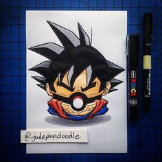 Check this anime mash up! Amazingly creative from @jakepopdoodle go check out their page for more amazing pics!  #draw #drawings #instagram #instaart #dbz #dragonball #dragonballz #goku #anime #animefan #animelife #animelover #animeworld #pokemon #pokeball #pokemonart #pokemonartist #pokemonmaster #instaartist #instadaily #instalike #art #artist #artwork #art_spotlight #artcollective by blinkin.art