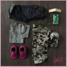 Camo outfit for boys.