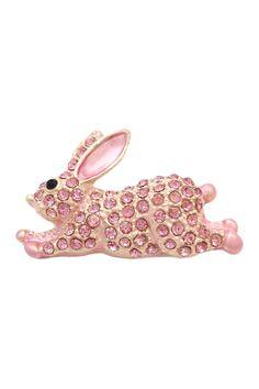 Jumping Rabbit Brooch on @HauteLook