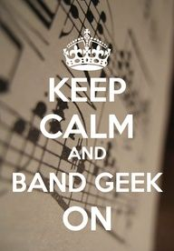 Band geeks are the best!