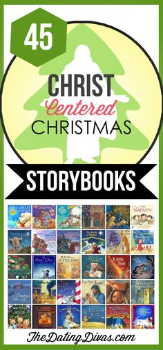 A whole collection of Christ-centered Christmas storybooks for kids.  A great way to keep the focus on the real meaning of Christmas.  Read one every night leading up until Christmas.  TheDatingDivas.com