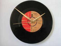 """El bimbo-   bimbo jet    7""""  vinyl record clock  £6.99"""