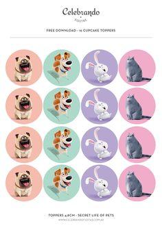 La vida secreta de tus mascotas (Secret life of Pets) | Celebrandofiestas Shop