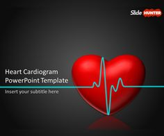 Free brain power point template with dark background medical free heart cardiogram powerpoint template is a free medical powerpoint template with animated heart that you toneelgroepblik Image collections