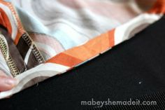 The Secret to Hemming Curved Edges Perfectly - Mabey She Made It