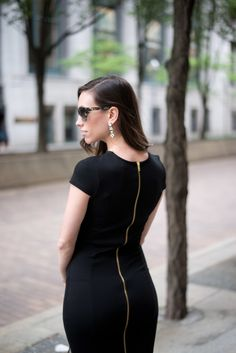 Wellesley & King - Felicity & Coco Petite Pencil Dress - Wellesley & King Black Dress Outfits, Chic Outfits, Long Sleeve Mesh Dress, Black Pencil Dress, Elegant Outfit, High Waisted Skirt, Fashion Dresses, Casual, Wedding Outfits