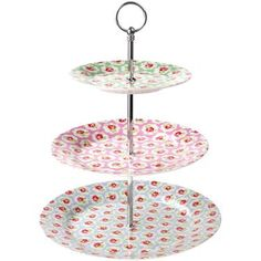 """""""Provence Rose Cake Stand""""  from ~Cath Kidston~"""
