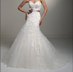 2013 Mermaid Wedding Dress Gown Ball Size 4-6-8-10-12-14-16-18-20-22++ | eBay