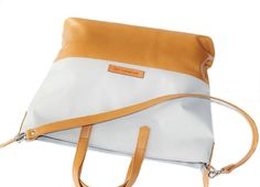 STAR Grey handmade leather bag by Annamaria Pap Price: 71€ http://facebook.com/annamariapap