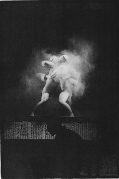 Mitsutoshi Hanaga - Sebi (Japanese Butoh performance). S) 'For me it is the idea of the word that produces all images. It is the key sign for all forms of moulding and organizing. When I speak using a theoretical language, I try to induce the impulses of this power, the power of the whole understanding of language which for me is the spiritual understanding of evolution.' But language is not to be understood simp