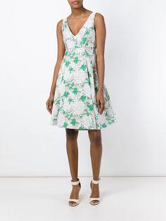 P.A.R.O.S.H. Vestido com estampa floral
