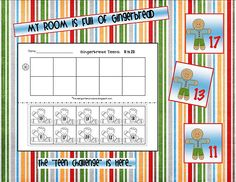 Kindergarten Crayons: Down came the turkeys and up went the gingerbread friends. Christmas Math, Christmas Activities, Math Activities, Preschool Christmas, Christmas Snacks, Winter Activities, Christmas Crafts, Gingerbread Man Activities, Gingerbread Men