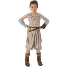 Star Wars Episode 7 Rey Kostüm Lüks 5-6 Yaş Bebek ve Çocuk Kostümleri Rubies