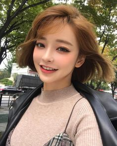 Ulzzang Korean Girl, Cute Korean Girl, Asian Cute, Cute Asian Girls, Korean Makeup Look, Asian Makeup, Korean Beauty, Asian Beauty, Ullzang Girls