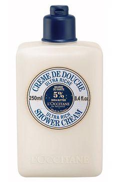 L'Occitane Shea Butter Ultra Rich Shower Cream ~ this is SOOOO yummy! I love this stuff :)