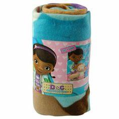 "Amazon.com: Fleece Throw - Doc McStuffins 45""x60"" Blanket: Toys & Games"