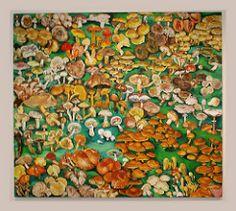 Pavel Šmíd Sick Forest II, 2002 acrylic on canvas (Sergei P. Zubkov) Tags: november art painting czech prague praha fair palace trade 2011 palác veletržní