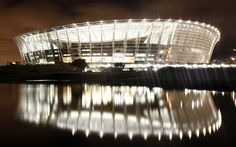 Cape Town stadium looking amazing at night