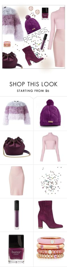 """""""Early Night Out"""" by stavrolga ❤ liked on Polyvore featuring Daizy Shely, Columbia, Diane Von Furstenberg, A.L.C., Winser London, Illamasqua, MICHAEL Michael Kors, Butter London, Adolfo Courrier and Monica Vinader"""