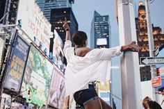 Reposting @trestique: Good night New York ♥️ | #itsNkengexTrestique