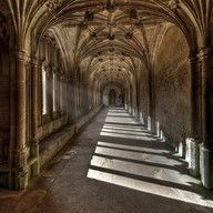 Lacock cloisters