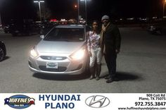 https://flic.kr/p/BZf48r | Happy Anniversary to Alicia on your #Hyundai #Accent from Lamar Rogers at Huffines Hyundai Plano! | deliverymaxx.com/DealerReviews.aspx?DealerCode=H057