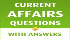 Current Affairs GK Quiz - Test your General Knowledge on Current Affairs. Play Free Current Affairs GK Quiz Test online. Find Objective Question and Answer on Current Affairs in Hindi - India.