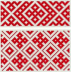 """Photo from album """"Сундук"""" on Yandex. Russian Embroidery, Blackwork Embroidery, Cross Stitch Embroidery, Embroidery Patterns, Bead Crochet Patterns, Weaving Patterns, Mosaic Patterns, Quilt Patterns, Knitting Charts"""