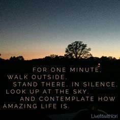 Enjoy the little things! Life is amazing!