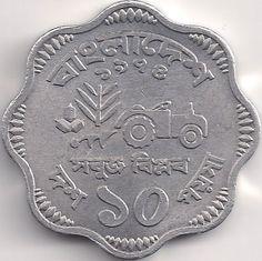 Wertseite: Münze-Asien-Bangladesch-টাকা-১০-১৯৭৪-১৯৭৯
