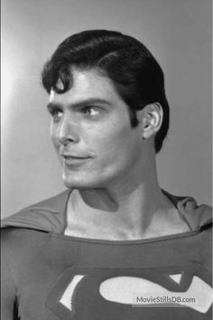 Superman - Publicity still of Christopher Reeve Supergirl Superman, Superman Movies, Superman Man Of Steel, Superman Comic, Dc Movies, Superman Photos, Real Superman, Christopher Reeve Superman, Superman Birthday Party