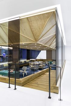 Cisco offices by Studio O+A features wooden meeting pavilionshttp://www.dezeen.com/2014/01/18/cisco-offices-by-studio-oa-feature-wooden-meeting-pavilions/