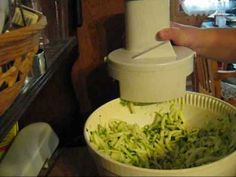 How To Dehydrate Sliced And Shredded Zucchini