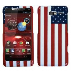 $6,99 Shipping worldwide MOTOROLA XT907 (Droid Razr M) United States National Flag Phone Protector Cover Design Snap on Hard Shell Cover Protector Faceplate