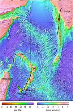 The islands Reunion and Mauritius, both well-known tourist destinations, are hiding a micro-continent, which has now been discovered. The continent fragment known as Mauritia detached about 60 million years ago while Madagascar and India drifted apart, and had been hidden under huge masses of lava.