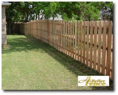 Shadow Box Fencing for around the outside of the yard.