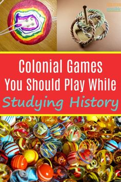 If you're looking for a way to get your kids engaged in your study of the 13 colonies, include some colonial games into your lesson plans. These fun colonial games for children to play are the perfect way to get older kids excited about studying history. History Activities, History Education, Teaching History, Middle School History, History For Kids, Family History, Games For Kids, Activities For Kids, Fun Games