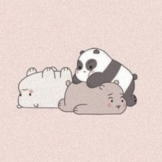 We Bare Bears, Pink Aesthetic, Aesthetic Anime, Sailor Moon, 8bit Art, Bear Wallpaper, Cartoon Profile Pictures, Cartoon Icons, Cute Icons