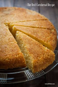 Best Cornbread Recipe Ever. Photo and recipe by Irvin Lin of Eat the Love. Best Cornbread Recipe Ever. Photo and recipe by Irvin Lin of Eat the Love. Best Cornbread Recipe, Homemade Cornbread, Jalapeno Cornbread, Cornbread Muffins, Corn Muffins, Sweet Bread, Delicious Desserts, Good Food, Cooking Recipes