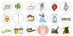 Neue Bildkarten zu Rechtschreibfällen Und weiter geht´s mit dem nächsten Bildkartenset zu Rechtschreibbesonderheiten. Die Datei enthält Bildkarten zu Wörtern mit einem Doppelvokal. Bei einigen Bildern