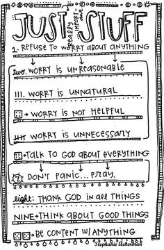 Just really important stuff **LOVE the doodled LIST + great key points** [credit to Stephanie Ackerman]
