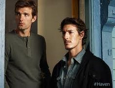 Eric Balfour & Lucas Bryant in Haven as Duke (right) & Nathan (left). Duke Crocker, Audrey Parker, Kirk Jones, Lucas Bryant, Beautiful Men, Beautiful People, Eric Balfour, Famous Duos, Hottest Male Celebrities