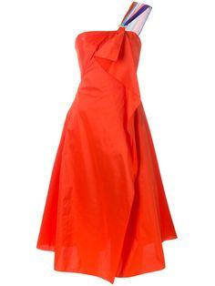PETER PILOTTO Tafetta Corset Dress. #peterpilotto #cloth #dress
